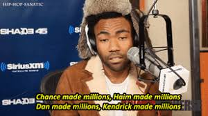 childish gambino freestyles over drake u0027s u0027pound cake u0027 on swa