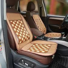 si e massant voiture bambou accessoires de couverture de siège automobile support pour le