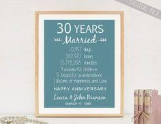 30 year anniversary gifts 35th anniversary any year anniversary gifts personalized for
