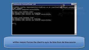microsoft windows setting server or domain time from ntp mp4