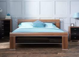 berkeley black wooden bed frame dreams