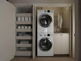 Organizing Laundry Room Cabinets Laundry Room In Closet Modern Laundry Room