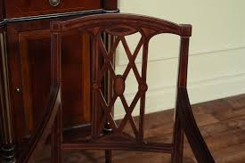 Edwardian Bedroom Furniture by Edwardian Inlaid Solid Mahogany Dining Room Chairs Federal Or