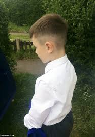 hair styles for 5year old boys eight year old kicked out of school for peaky blinders style