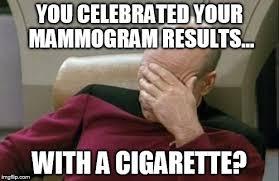 Mammogram Meme - captain picard facepalm meme imgflip