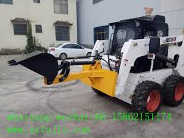 skid steer loader backhoe attachment skid loader digger attachment