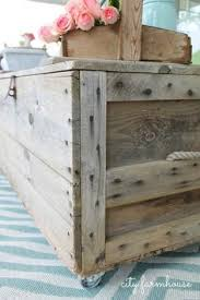 Shipping Crate Coffee Table - shipping crate coffee table diy pinterest shipping crates
