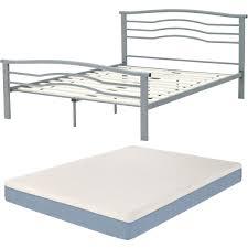 bedroom full size bed frame for memory foam mattress platform