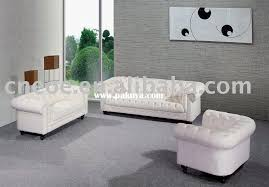 Chesterfield White Leather Sofa White Leather Chesterfield Sofa Sanblasferry