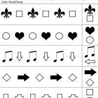shape pattern year 2 shapes 1 2 pattern
