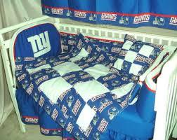 Ny Giants Crib Bedding Ny Giants Bedding Etsy