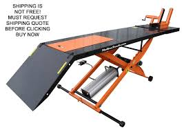 motorcycle lift table plans best new redline orange mc1k 1000lb motorcycle lift table without