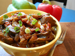 The Slow Mediterranean Kitchen Slow Cooker In The Summer Mediterranean Eggplant Salad