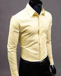 fashion mens luxury stylish casual dress shirt slim fit t shirts