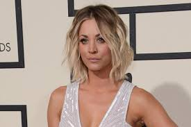 why kaley cucoo cut her hair kaley cuoco has long hair again says goodbye to her lob celebuzz