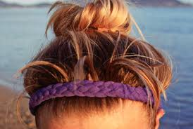 no slip headbands goldfish diy no slip woven workout headband