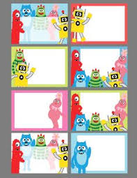 yo gabba gabba birthday cake3d cards yo gabba gabba images can be used for a number of things