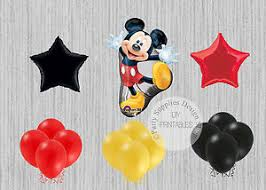 mickey mouse party decorations mickey mouse birthday party balloons disney mickey mouse party