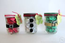Homemade Christmas Gifts For Adults by Christmas Kisses Treat Jars The Scrap Shoppe