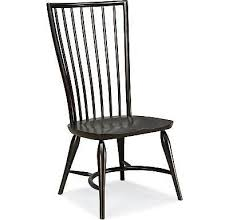 Thomasville Wingback Chairs Set Of 2 Thomasville Furniture Cinnamon Hill Black Side Chairs