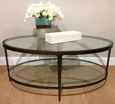 Glass Oval Coffee Table by Cocktail And Coffee Tables U2014 Random Harvest