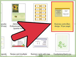 How To Create Business Cards In Word How To Make Double Sided Business Cards In Word 2007 Infocard Co