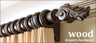 Metal Curtain Rods And Finials Incredible Wooden Drapery Hardware And Wood Curtain Rods 2 Inch
