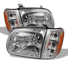 2010 toyota tundra tail light bulb replacement 05 06 toyota tundra sequoia replacement crystal headlights chrome