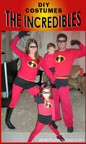 incredibles costume while they snooze how to make the incredibles costumes