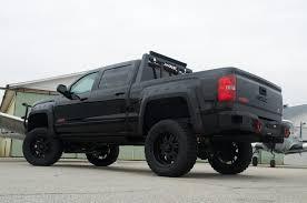 lifted gmc red gmc sierra z71 stealth xl lifted truck rocky ridge trucks