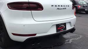 Porsche Macan Gts Black - porsche macan gts with fabspeed maxflo exhaust and black coated
