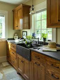 cherry wood sage green prestige door french country kitchen
