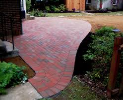 Free Patio Design Free Form Brick Patio Exle Of Cutting Bricks To Fit