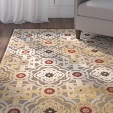 Rug Tiles Martha Stewart Martha Stewart Rugs Imperial Palace Brown Red Area Rug U0026 Reviews