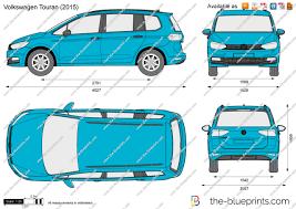 old volkswagen drawing the blueprints com vector drawing volkswagen touran