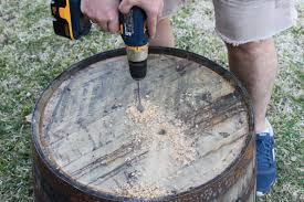 whiskey barrel planter the cavender diary