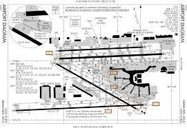Miami Airport Map by File Mia Miami International Airport Faa Diagram Svg Wikimedia