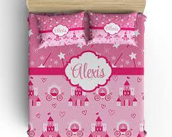 Princess Duvet Cover Princess Bedding Etsy