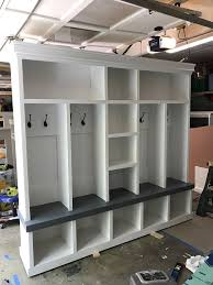entryway lockers entryway bench shoe storage organization mudroom hall tree coat free