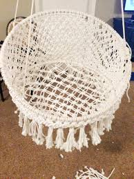 Macrame Home Decor by 100 Chair Lawn Macrame Lawn Chair Webbing Repair Patio
