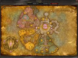 Wow Kalimdor Map World Of Warcraft Burning Crusade Part I
