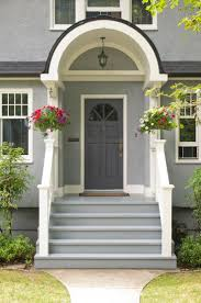 Front Door Colors For Gray House Front Doors Appealing Blue Grey Front Door Grey Paint Color For