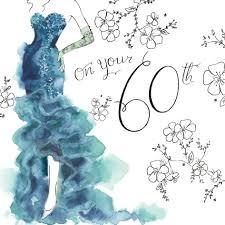 60 year birthday card happy 60th birthday happy birthday niece girl friend