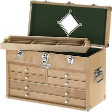 harbor freight wooden tool chest paper and pen paraphernalia