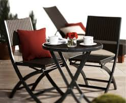small patio table set 3 piece patio furniture set home site