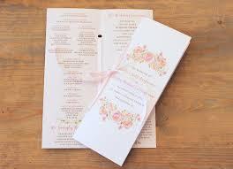 wedding program booklet etiquette and tips for the wedding program raspberry
