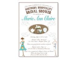 southern hospitality themed bridal shower invitation on luulla