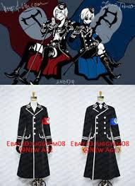 Black Butler Halloween Costumes Black Butler Ii Alois Trancy Ciel Dojin Military Uniform Cosplay