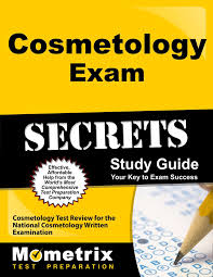 cosmetology exam secrets study guide cosmetology test review for
