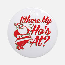 naughty christmas ornament cafepress